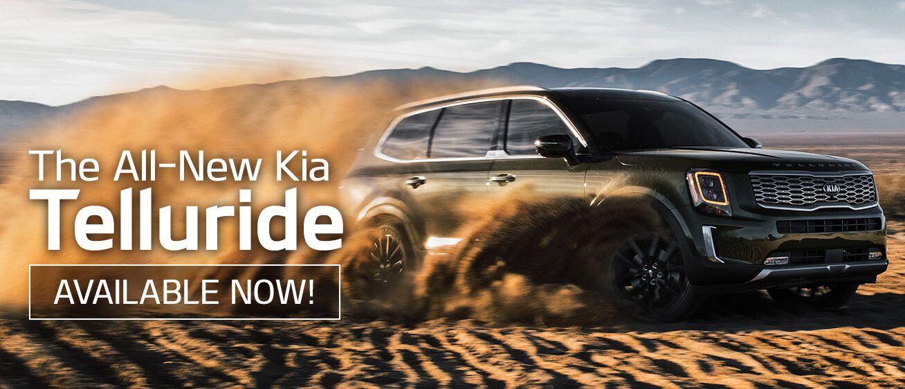 Kia Telluride Available Now