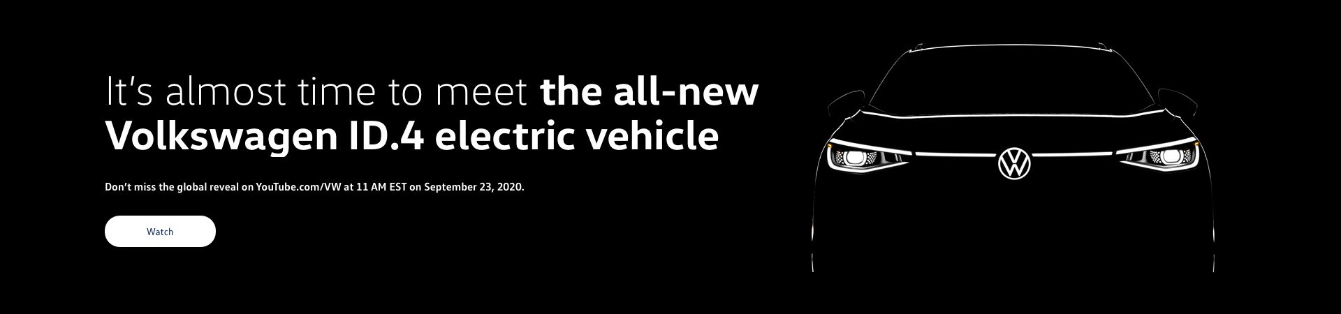 All-new Volkswagen ID.4 electric vehicle