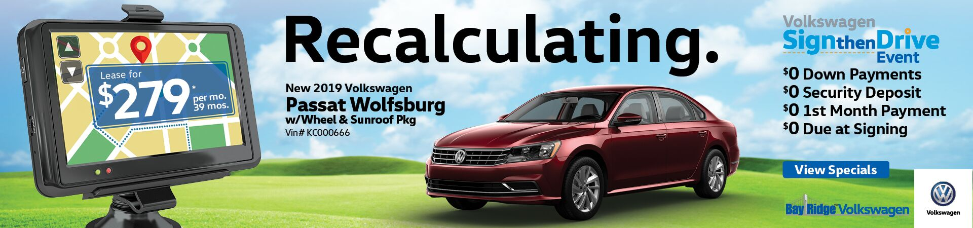 April Passat Wolfsburg Lease Special