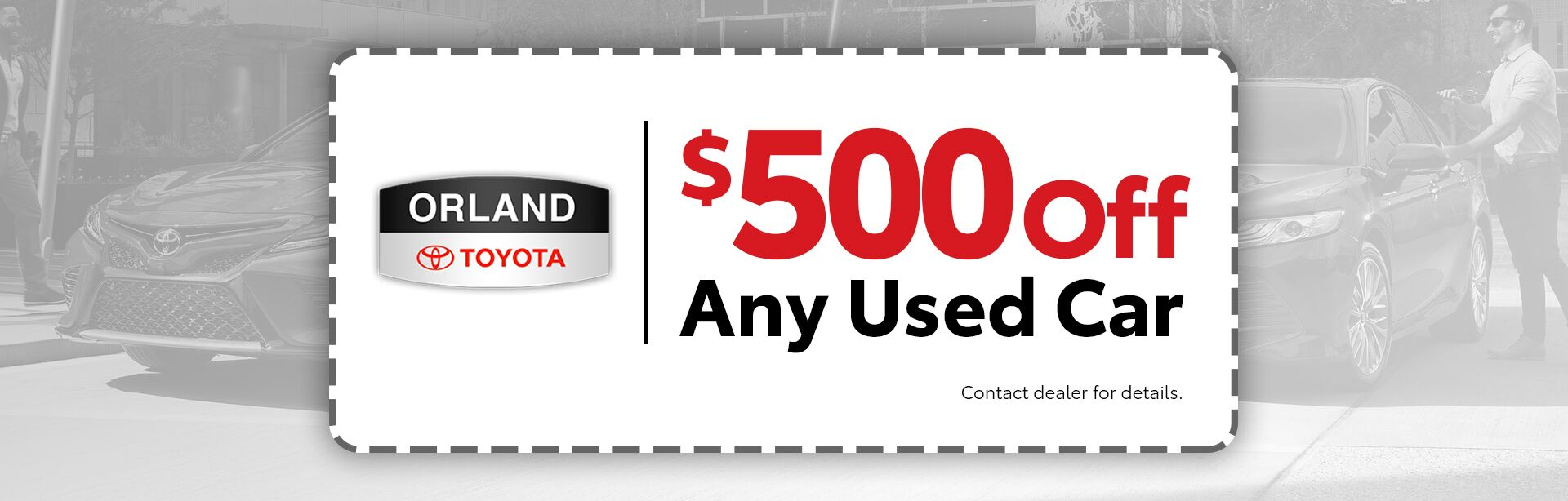 $500 Off Pre-Owned