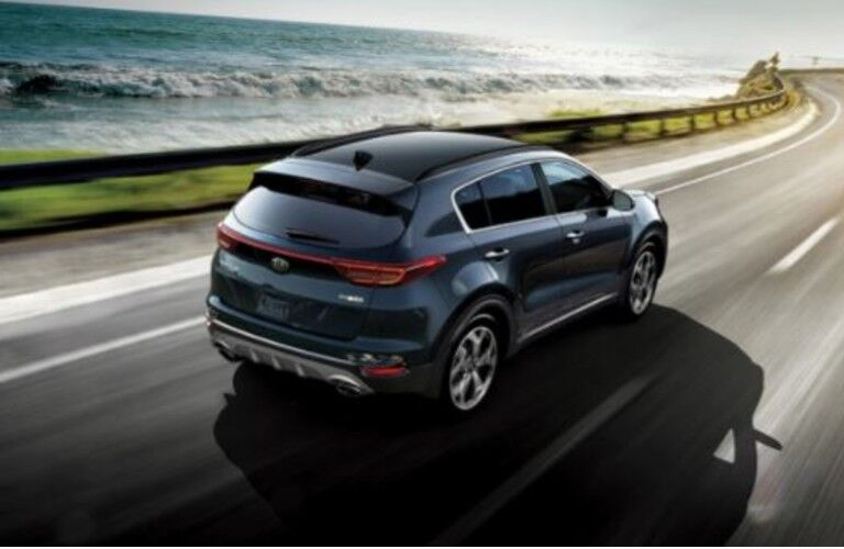 2021 Kia Sportage from exterior rear