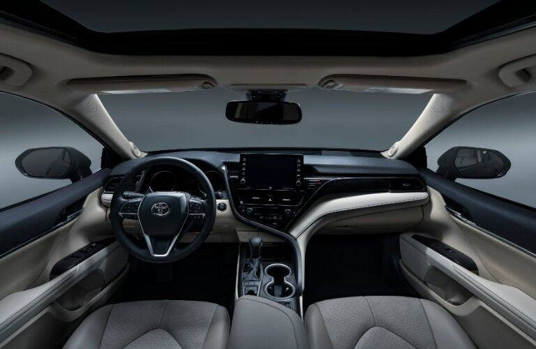 2021 Toyota Camry front dash