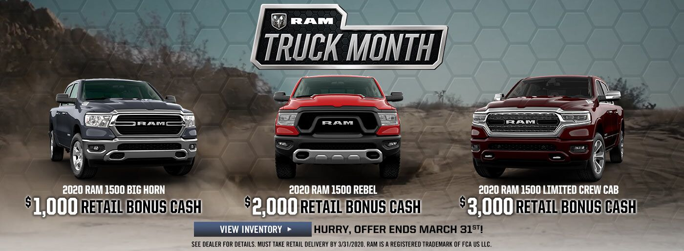 RAM Truck Month - March