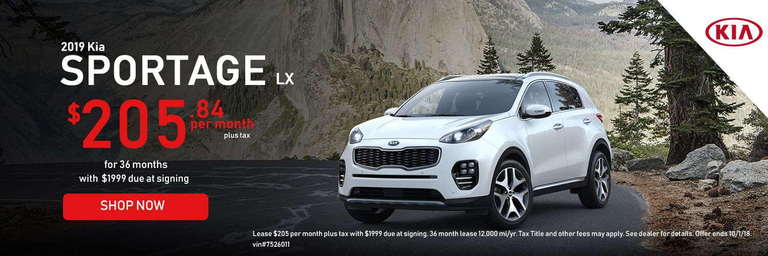 Sportage Lease