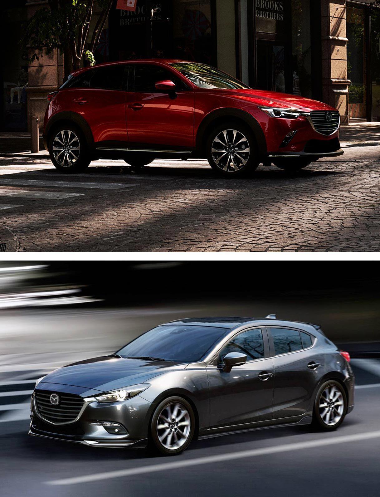 Mazda CX-3 vs. Mazda 3 Hatchback