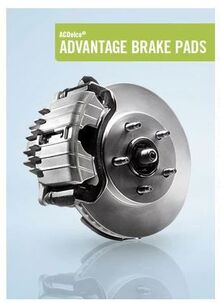 ACDelco® ADVANTAGE BRAKE PADS