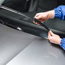 Set of wiper blades