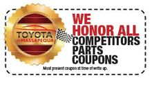 We Honor All Competitors Parts Coupons
