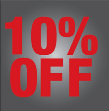 10% Off Service or Maintenance