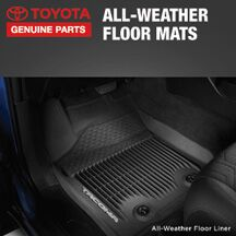 20% OFF ALL-WEATHER FLOOR LINERS/MATS