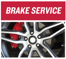 BRAKE SERVICE SPECIAL $25 OFF