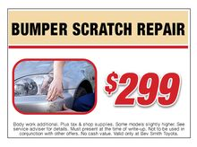 Bumper Scratch Repair