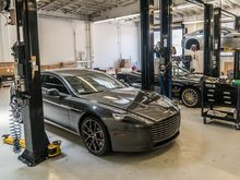COMPLIMENTARY ASTON MARTIN VEHICLE HEALTH CHECK