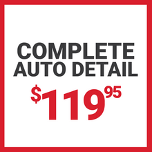 Complete Auto Detail for $119.95
