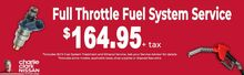 FULL THROTTLE FUEL SYSTEM SERVICE