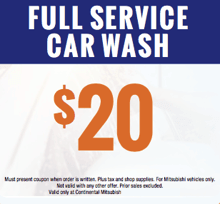 Full Service Car Wash $20.00