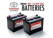 Genuine Toyota Battery Special