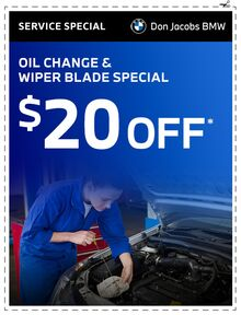 Oil Change & Wiper Blade Special