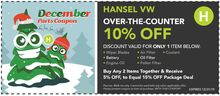 Over-The-Counter 10% Off