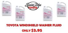 Toyota Windshield Washer Fluid
