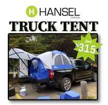 Truck Tents at Hansel Toyota!