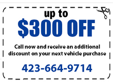 Up to $300 off your purchase if you call now.