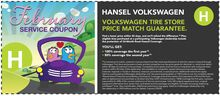Volkwagen Tire Store Price Match Guarantee