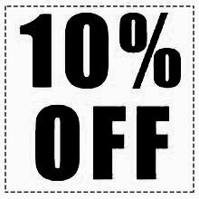 10% OFF SERVICE SPECIAL