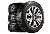 BUY FOUR SELECT TIRES, GET UP TO AN $80 REBATE BY MAIL.*