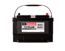 MOTORCRAFT® TESTED TOUGH® PLUS BATTERIES, $99.95 MSRP*