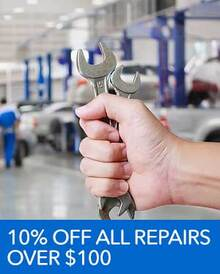 10% OFF All Repairs - Honda