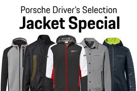 10% OFF Porsche Driver's Selection Jackets