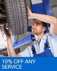 10% Off Any Service Over $200 - Honda