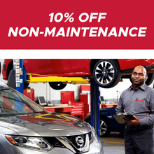 10% off Non-Maintenance Items