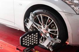 $10.00 Off Front End Alignment