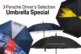 15% OFF Porsche Driver's Selection Umbrellas
