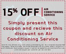 15% Off Air Conditioning Service