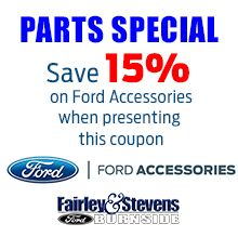 15% Off Ford Accessories