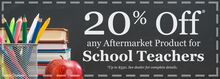 20% Off School Teachers