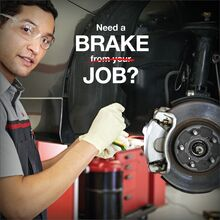$25 OFF YOUR TOYOTA BRAKE JOB