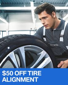 $50 OFF Tire Alignment - BMW