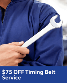 $75 OFF Timing Belt - Volkswagen