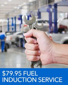 $79.95 Fuel Induction Service – Honda