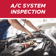 A/C System Inspection