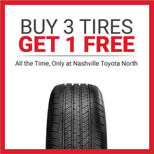 Buy 3 Tires Get 1 Free, All The Time
