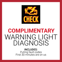 Complimentary Warning Light Diagnosis