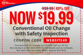 Conventional Oil Change with Safety Inspection