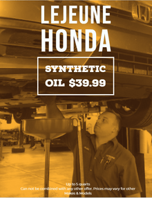 Fall Oil Change Special $39.99