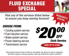 Fluid Exchange Special