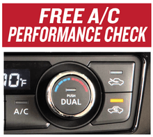 Free A/C Performance Check